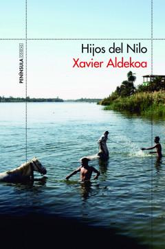 Portada Hijos de Nilo, de Xavier Aldekoa