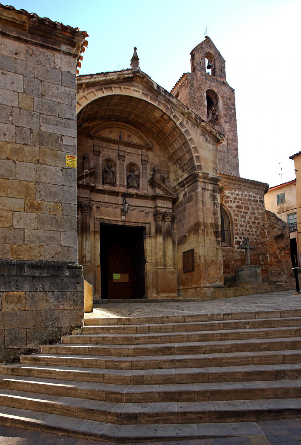 Poza de la Sal08. Iglesia de los Santos Cosme y Damian