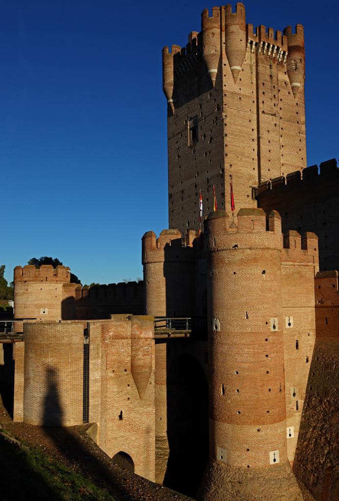 Medina del Campo02. Castillo de la Mota