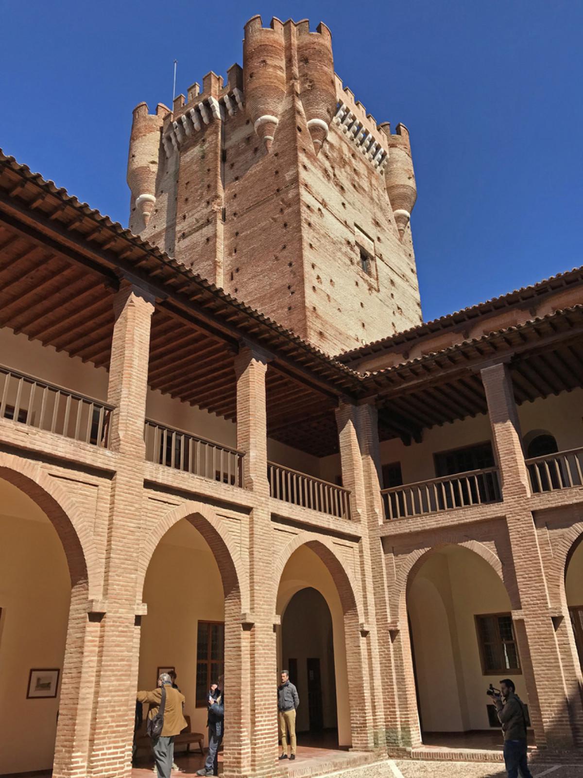 Medina del Campo04. Castillo de la Mota