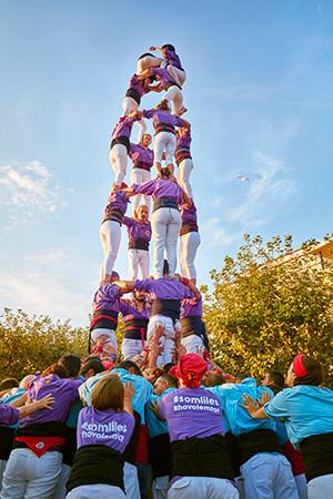 ROSES Fiesta Mayor (castells)