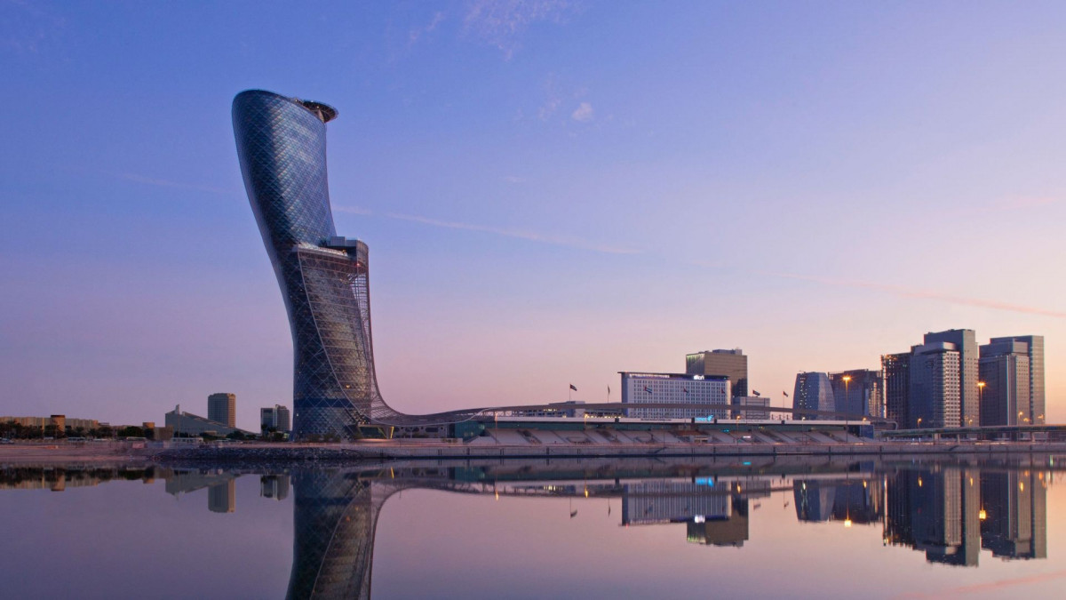 8. Hotel Hyatt Capital Gate 1