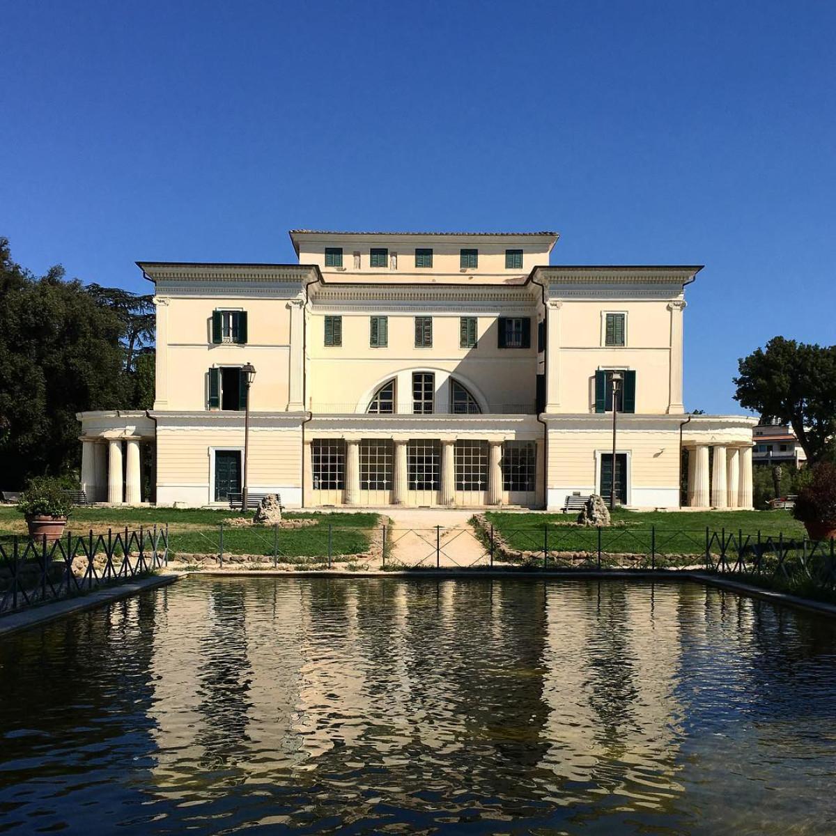 Villa Torlonia Roma credit lallytravelling