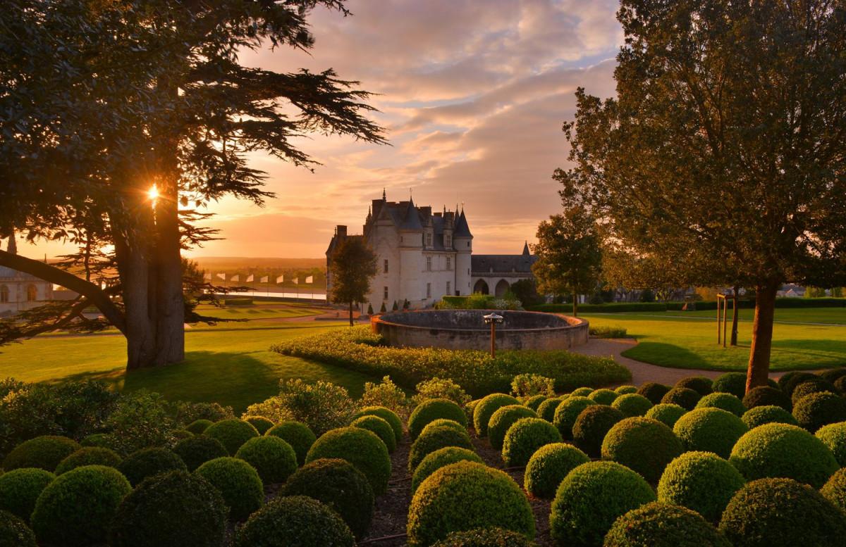 Chateau royal Amboise Jardinu00a9Chu00e2teau d'Amboise L De Serres