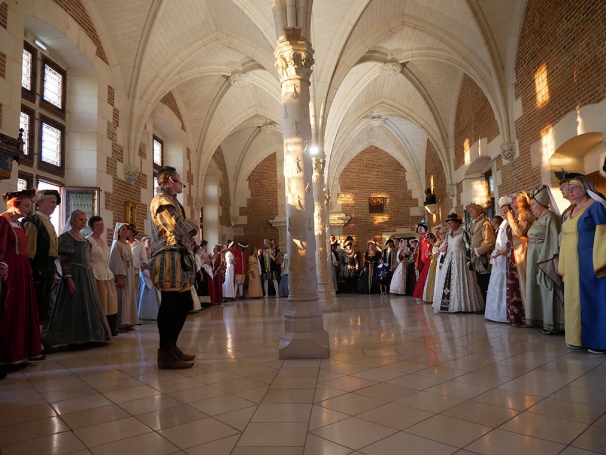 Chu00e2teau royal Amboise   Bal Renaissance u00a9VTreney CRTCentreValdeLoire (2)