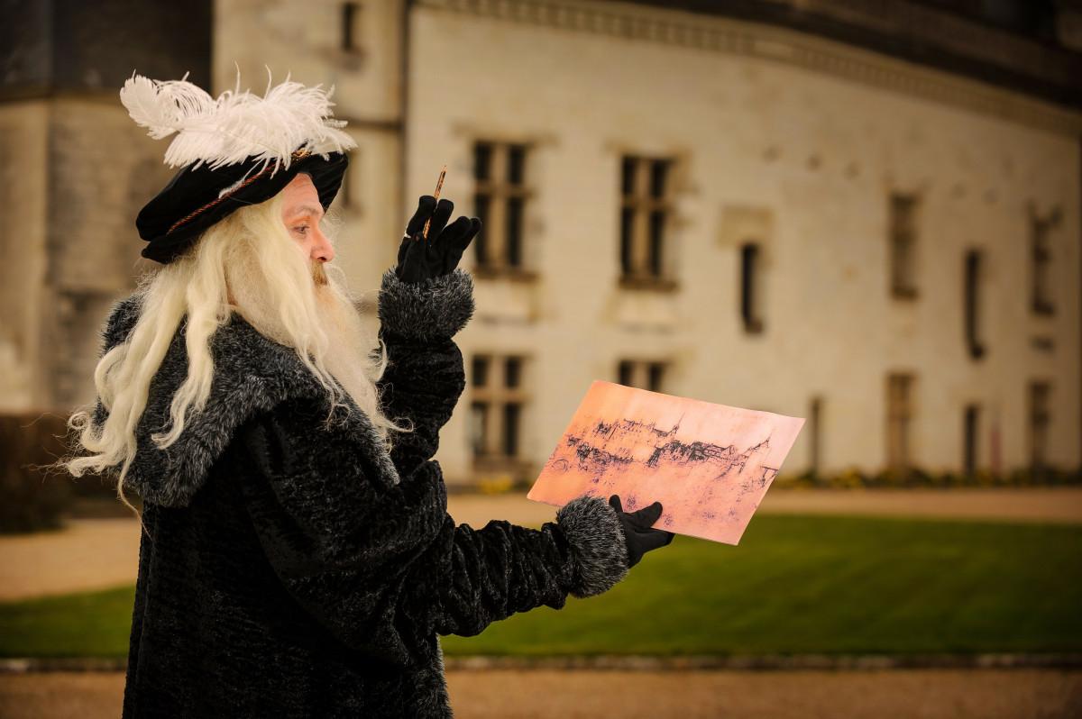 LeonarddeVinci Chateau royal Amboiseu00a9LdeSerres