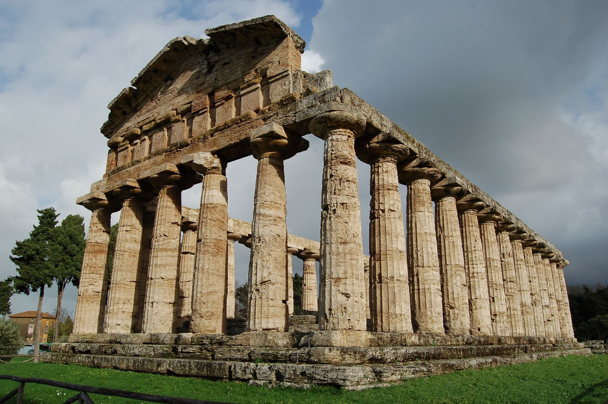 Temple of Athena at Paestum