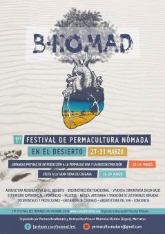Cartel del Festival Bnomad